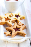 Star biscuits Royalty Free Stock Images