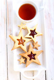 Star biscuits Stock Images