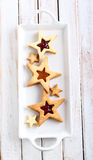 Star biscuits Stock Photos
