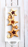 Star biscuits Royalty Free Stock Photography