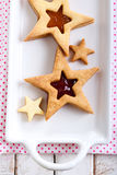 Star biscuits Royalty Free Stock Photo