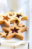 Star biscuits Royalty Free Stock Photos