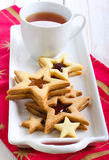 Star biscuits Royalty Free Stock Image