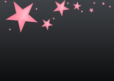 Star black background. For best use your greeting card and background works Stock Images