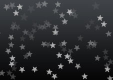 Star black background Stock Photos
