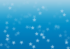 Star blue background Stock Photo