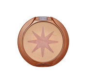Star blush. Female makeup accessory blush powder isolated with clipping path included Stock Photo