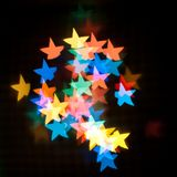 Star bokeh. Stock Photo