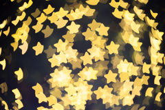 Star bokeh Stock Photography