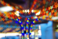 Star bokeh Stock Photography