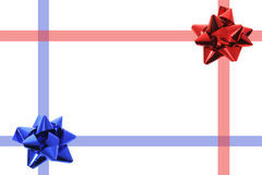 Star Bows Royalty Free Stock Images