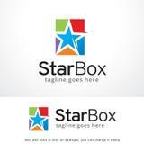 Star Box Logo Template Design Vector, Emblem, Design Concept, Creative Symbol, Icon Stock Images