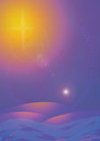 Star Bright Card royalty free stock images