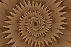 Star brown abstract vector background Royalty Free Stock Images