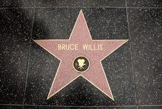 The star of Bruce Willis Stock Photos