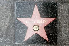 The  star of  Buddy Holly Royalty Free Stock Images