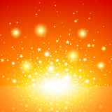 Star Burst. Exploding Star Background, Vector Illustration Royalty Free Stock Photos