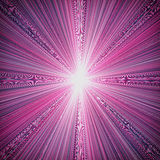 Star burst Royalty Free Stock Photo