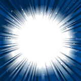 Star burst background copy space Stock Images