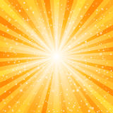 Star burst background Stock Images