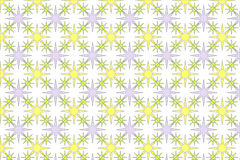 Star burst background pattern. A star burst background pattern in yellow and white Royalty Free Stock Photo