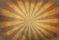 Star burst background with stripes on old retro texture with dar Stock Photos