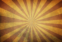 Star burst background with stripes on old retro texture Stock Photography
