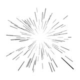 Star burst Royalty Free Stock Image