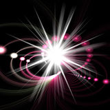 Star Burst Fractal. An abstract fractal vortex background with plenty of copyspace.  Add this colorful and stylish texture to any design Stock Photography