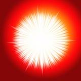 STAR BURST LIGHT. Star burst fire light design for background work Stock Photography