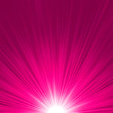 Star burst pink and white fire. EPS 8. Vector file included Stock Images