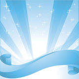 Star burst vector blue background Royalty Free Stock Images