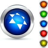 Star button. Royalty Free Stock Image