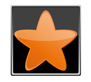 Star button Stock Images