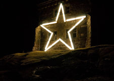 Star on Cabot Tower Stock Photography
