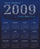Star Calendar for 2009. To see similar, please VISIT MY GALLERY royalty free illustration