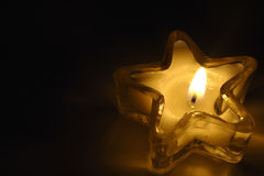Star Candle Royalty Free Stock Photo