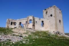 Star castle, Teba, Andalusia, Spain. Star castle (Castillo de la Estrella) on top of the hill, Teba, Malaga Province, Andalusia, Spain, Western Europe Stock Image
