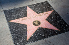 The  star of  Charles Champlin Royalty Free Stock Images