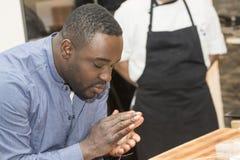 Star Chef Nelson Mueller Stock Images