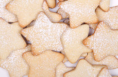 Star Christmas cookies Royalty Free Stock Photo