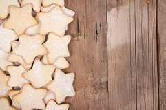 Star Christmas cookies Royalty Free Stock Images