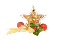 Star Christmas decoration stock images