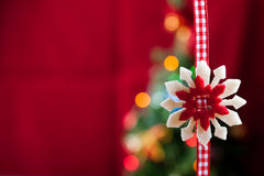 Star - Christmas decorations Stock Photo