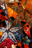 Star Christmas lantern Royalty Free Stock Photos