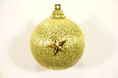 Star on Christmas ornament Stock Images