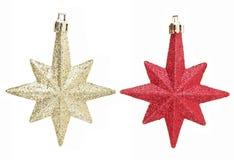 Star Christmas Set Royalty Free Stock Photos