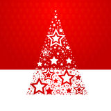 Star Christmas Tree Royalty Free Stock Photography