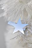 Star on christmas tree Royalty Free Stock Images