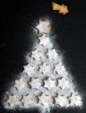 Star Christmas Tree Stock Photography